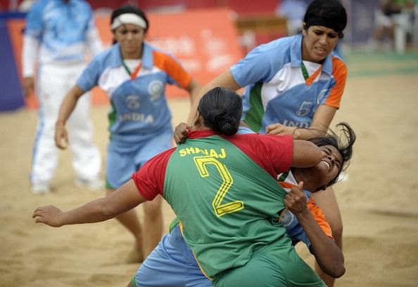 Indian women's kabaddi team beats Pakistan to make it through to World Cup final