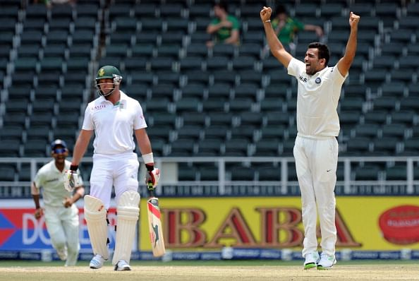 Zaheer 4th Indian to take 300 Test wickets