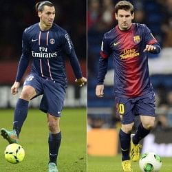 Zlatan Ibrahimovic wants Lionel Messi to join him at PSG