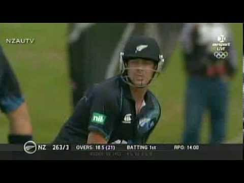 Video: Jesse Ryder's 46 ball Century against West Indies