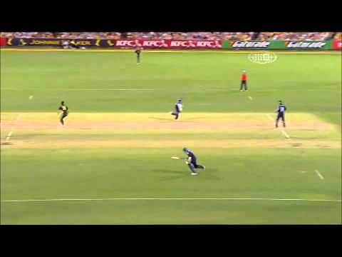 Video: Funny cricket moment - Runner confuses fielding team