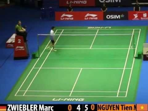 Video: Marc Zwiebler's impeccable defensive skills
