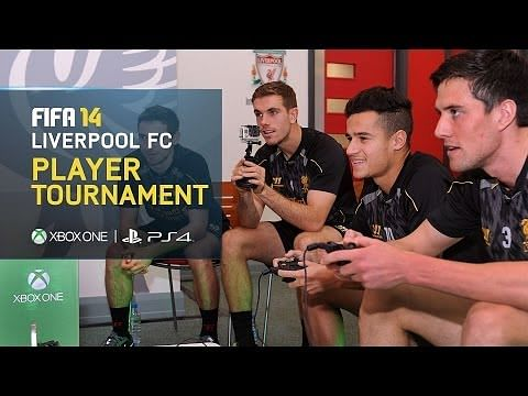 Video: Liverpool stars take on FIFA 14 tournament
