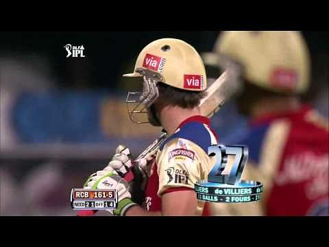 Video: AB de Villiers takes on Dale Steyn in the IPL
