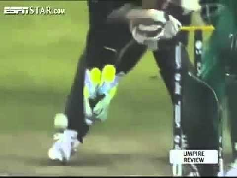 Video: Weirdest dismissal in Cricket history?