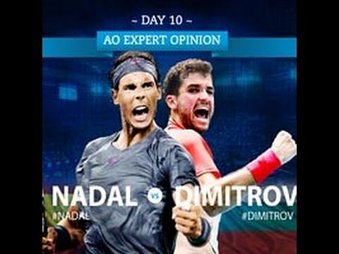 Video : Highlights of Rafael Nadal vs Grigor Dimitrov, Australian Open 2014