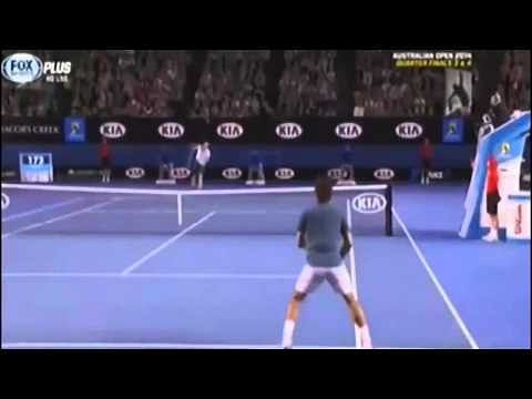 Video: Highlights of Roger Federer vs Andy Murray, Australian Open 2014