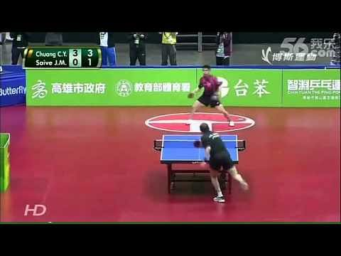 Video: One of the funniest table tennis matches you'll ever see