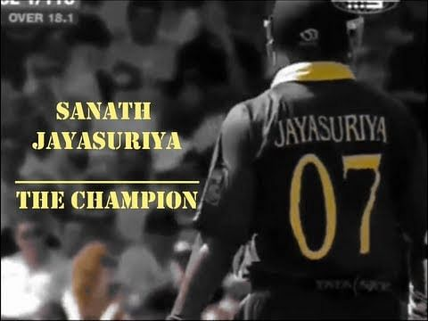 Video: Sanath Jayasuriya - The Champion