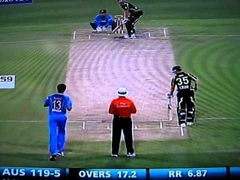 Video: MS Dhoni's quick hands - fastest stumping in history?