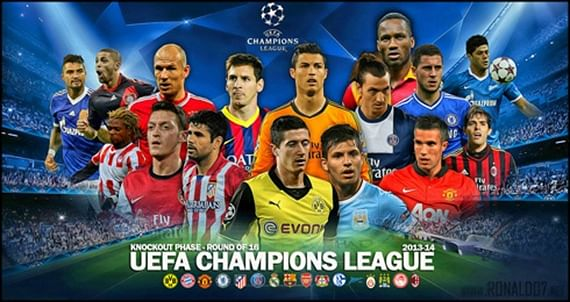 UEFA Champions League 2013-2014: Round of 16 – A PREDICTION