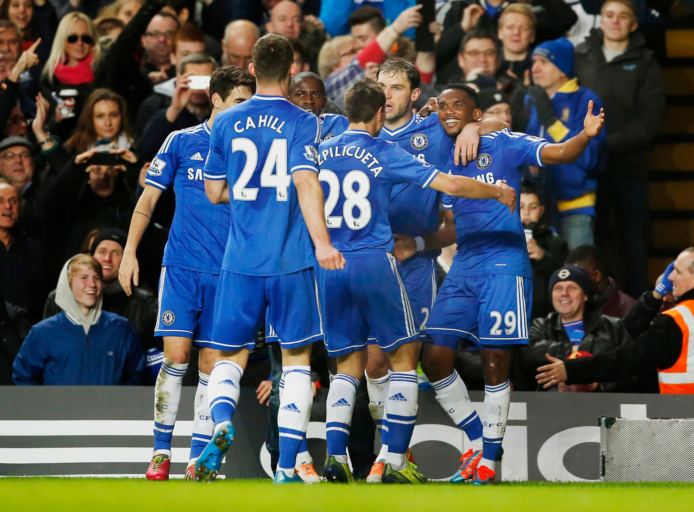 Chelsea 3-1 Manchester United: Key stats and player ratings