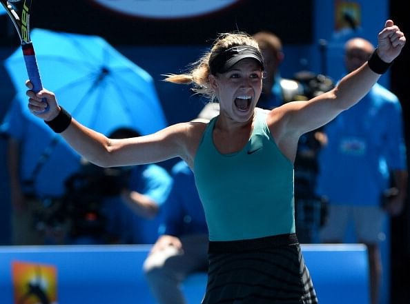 Australian Open: Teenager Bouchard sets up semi-final with Li