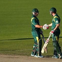 Stats:  Highest partnerships for the first five wickets in 2013 ODIs