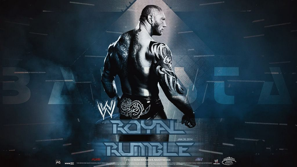 Royal Rumble Match Card