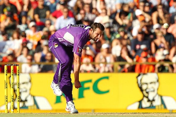 Perth Scorchers vs Hobart Hurricanes, Regular Season - 7 Jan 2014