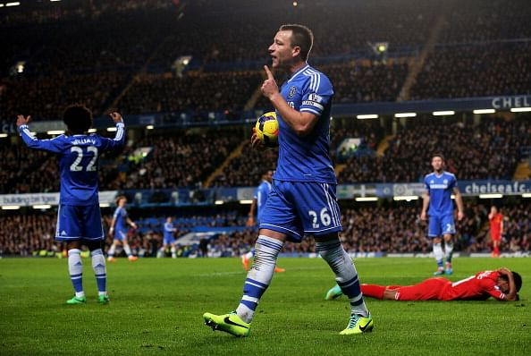 "John Terry: ""Jose showed faith in me"""