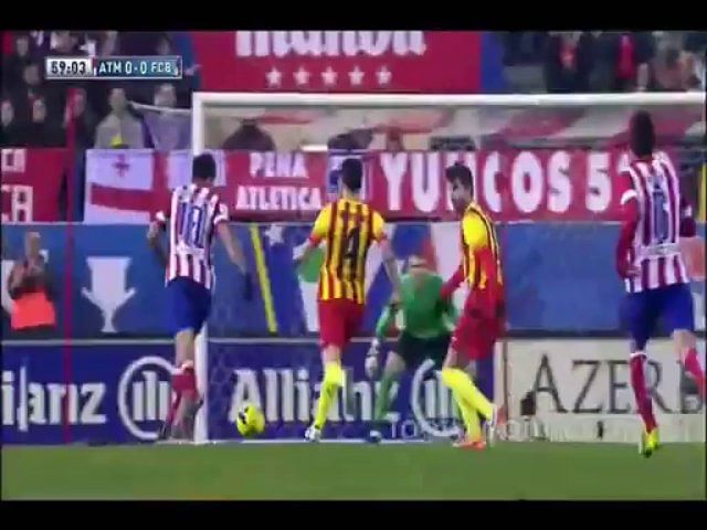 Video: Atletico Madrid 0 – Barcelona 0
