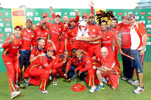 Knights vs Highveld Lions, South Africa T20 Series - 12 Jan 2014