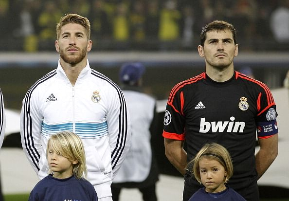 Rumour: Manchester City plot shock bids for Real Madrid pair - Sergio Ramos and Iker Casillas