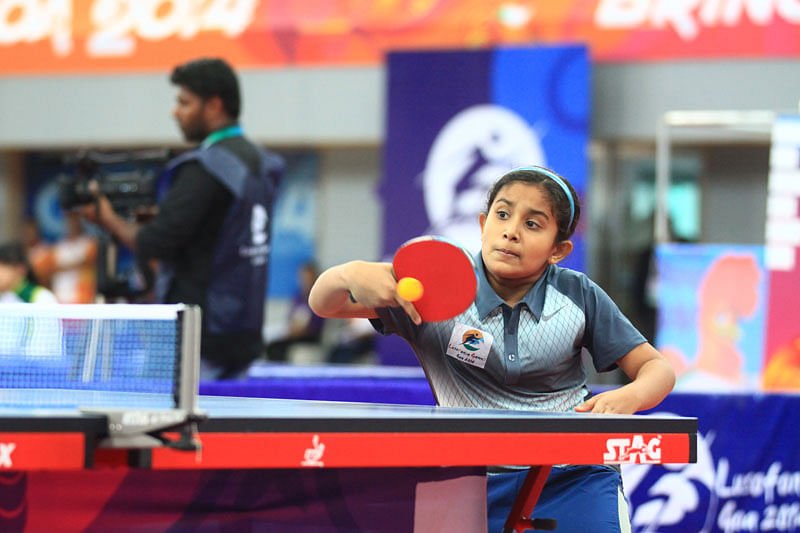 Goa clinch table tennis golds at Lusofonia Games 2014