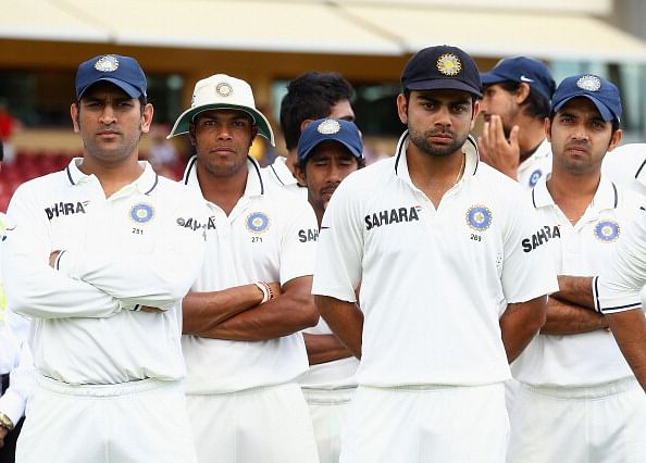 Stats: India win and loss ratio in different countries in Tests