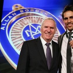 Mitchell Johnson wins Allan border medal; Michael Clarke named Australian Test Cricketer of the year