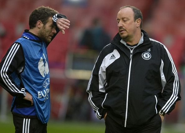 Rafa Benitez admits it's difficult to sign Juan Mata and David Luiz