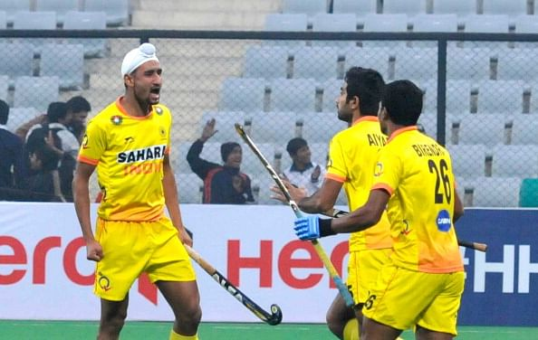 Hockey World Cup 2014: India earn first point by drawing with Spain