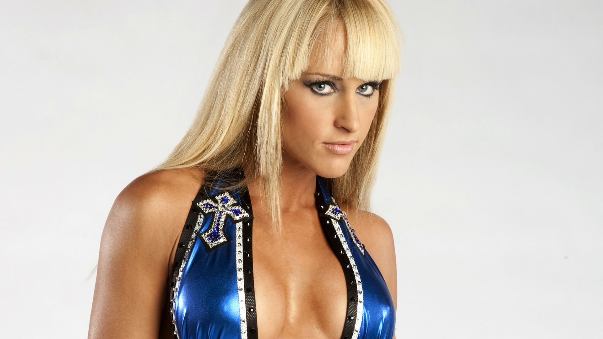 Tits michelle mccool has a boob job get much better