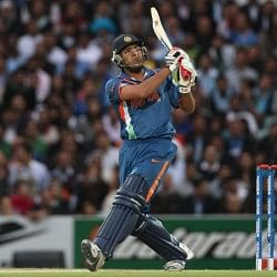 Stats: Most sixes in ODIs in 2013