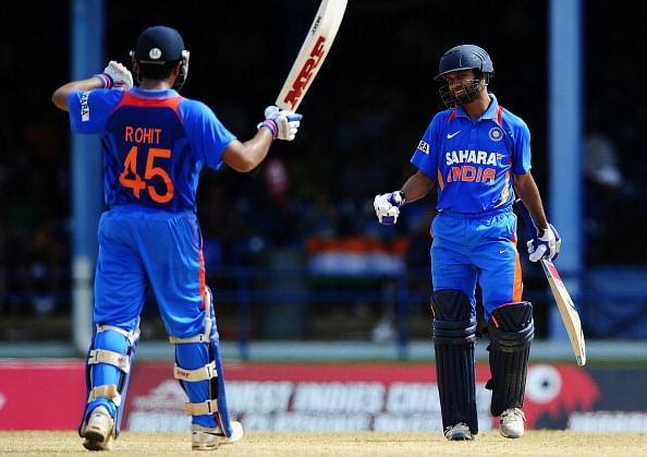 Stats: Rohit Sharma and Shikhar Dhawan scored most runs in ODI partnerships in 2013