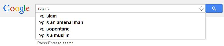 how to delete google autofill search