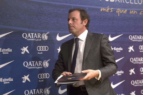 Sandro Rosell departure from Barcelona sends shockwaves through Spanish press