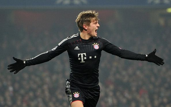 Rumour: Manchester United target Toni Kroos set to sign contract extension with Bayern Munich