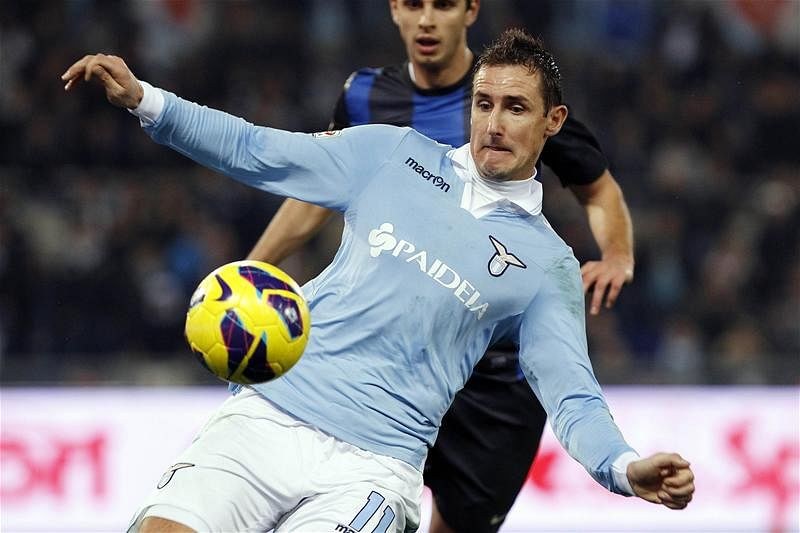 Rumour: Arsenal linked with Lazio's German striker Miroslav Klose