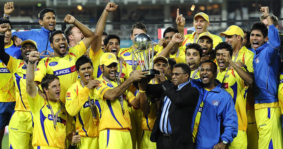 Stats: The most successful teams in the IPL  Chennai Super Kings Players