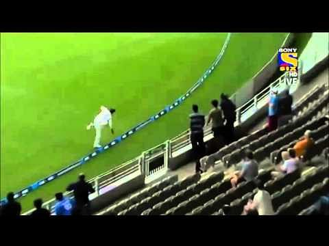 Video: Ravindra Jadeja takes a stunning catch on the fence