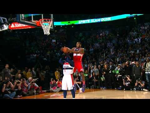 Video: John Wall Reigns as the 2014 Sprite Slam Dunker of the Night