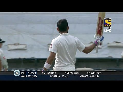 Video: Virat Kohli's unbeaten 105 in 2nd Test at Wellington