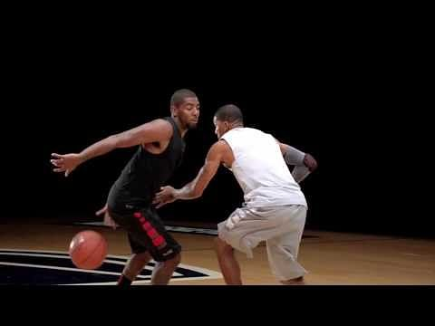 Video: Kyrie Irving reveals the secret of how he uses spin to score