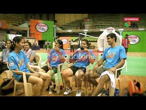 Video: IBL - Mumbai Masters players show off their humorous side