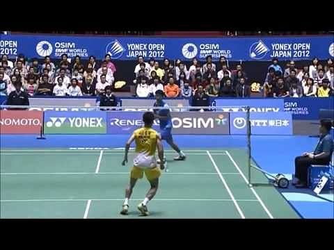 Video: Badminton trickshots