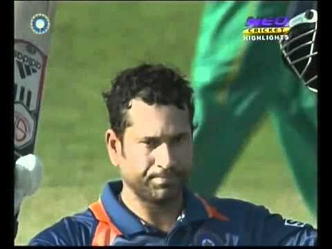 Video: Sachin Tendulkar's 200 v South Africa