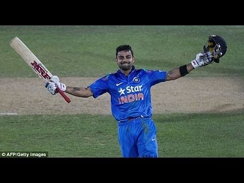Video: Virat Kohli century vs New Zealand in 2014 at Napier
