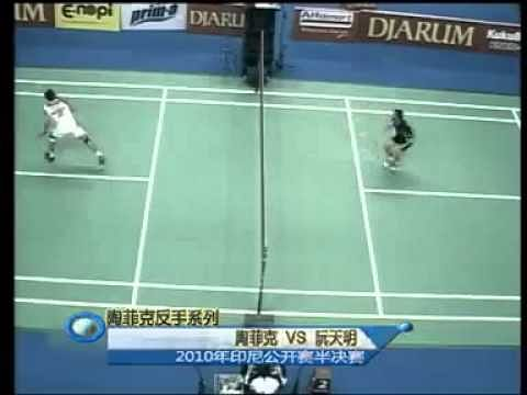 Video: Top 10 Backhand Smash From The Legend Taufik Hidayat