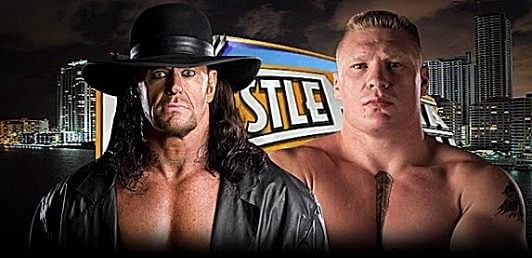 Undertaker LOSES to Brock Lesnar! [Actual Video] Wrestlemania 30 [21-1]