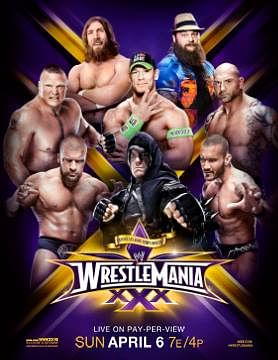 CM Punk replaced on the WrestleMania XXX poster