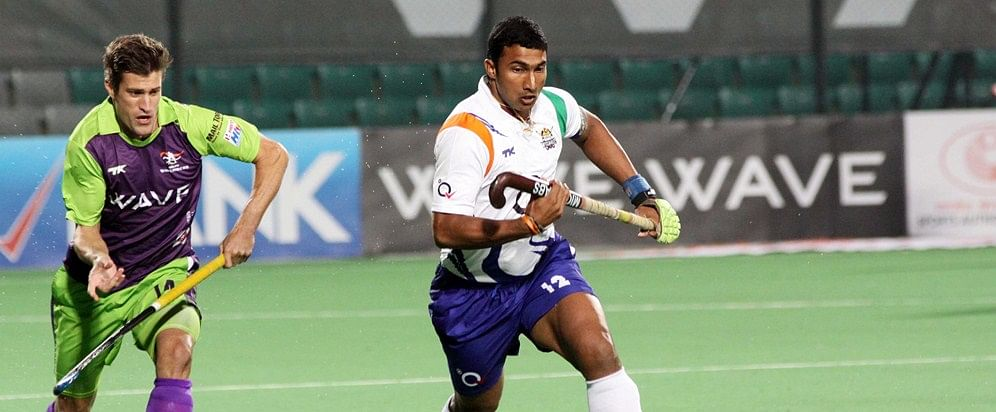 Hockey India League: Delhi Waveriders draw 1-1 with Uttar Pradesh Wizards to climb to the top of HIL 2014