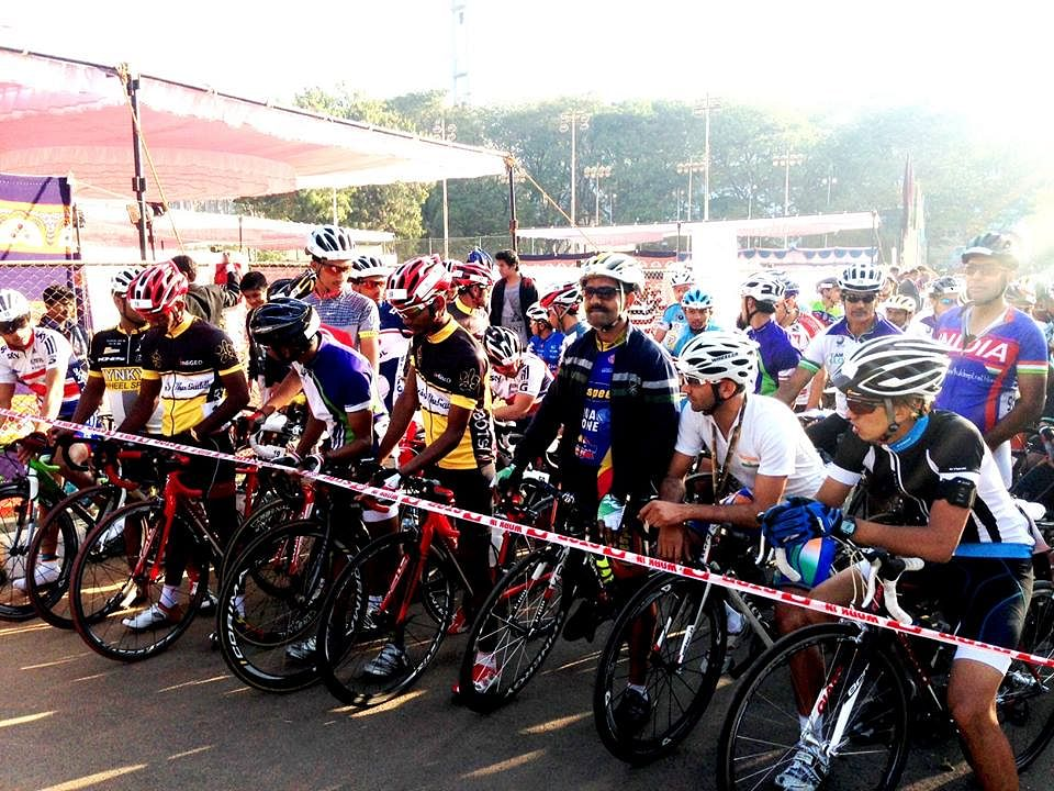 Savanur tops in Vodafone Cycling Marathon